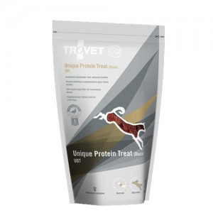 TROVET Unique Protein Treats UDT (Duck) Hond - 8 x 125 gr