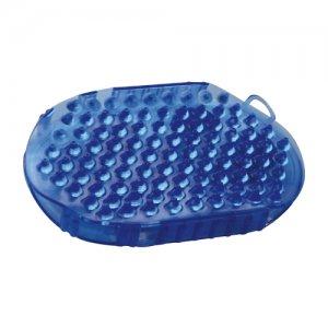 Tweezijdige Ros- & Massageborstel - Blauw