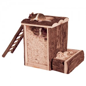 Trixie Play and Burrow Tower - 20 x 20 x 16 cm