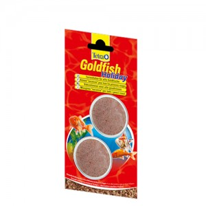 Tetra Goldfish Holiday Voer - 2 x 12 g