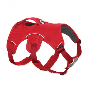 Ruffwear Webmaster Harness - M - Red Currant