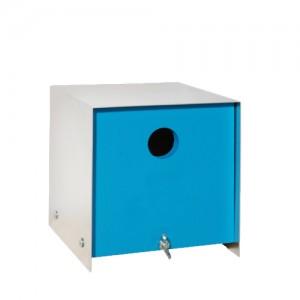 Vogelhuis Pinehout - Blauw