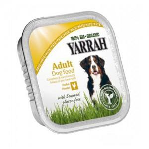Yarrah - Paté Hond Kuipje met Kip Bio - 12 x 150 g
