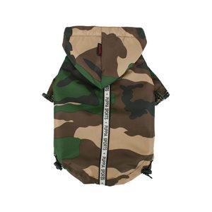 Puppia Base Jumper Regenjas - Camouflage - S