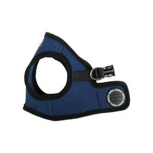 Puppia Soft Vest Harness - L - Blauw