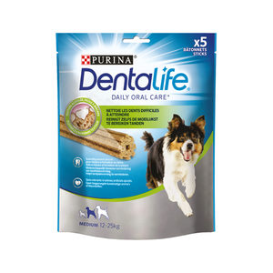 Purina DentaLife – Middelgrote Hond – 5 sticks