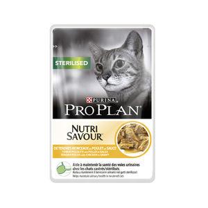 Pro Plan Cat Nutri Savour Sterilised Multipack Kip 10x85 g Kattenvoer