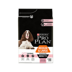 Purina Pro Plan Dog - 7+ Adult - Sensitive Skin - Zalm - 3 kg