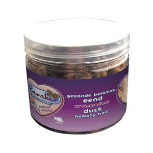 Renske Kat Gezonde Beloning Vleeshartjes - Eend - 100 gram