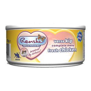 Renske Kat Vers Paté - Adult - Verse Kip - 24 x 70 gram