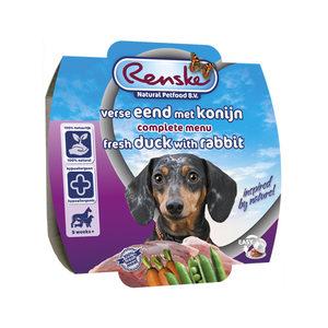 Renske Vers Vlees - Eend met konijn - 8 x 100 gram