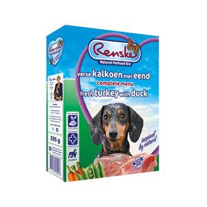 Renske Vers Vlees - Kalkoen met eend - 10 x 395 gram