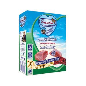 Renske Vers Vlees Graanvrij Senior - Kalkoen - 10 x 395 gram