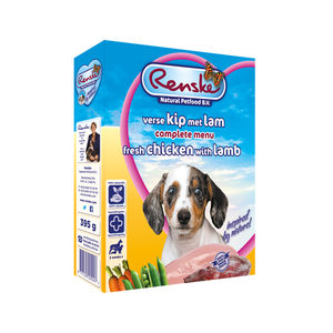 Renske Vers Vlees Puppy - 10 x 395 gram