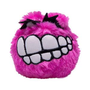 Rogz Fluffy Grinz Ball - Small - Pink