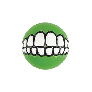 Rogz Grinz Ball - Large - Groen
