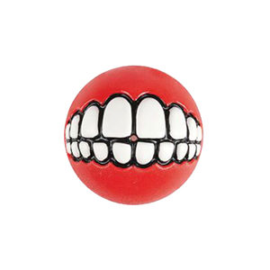 Rogz Grinz Ball - Large - Rood