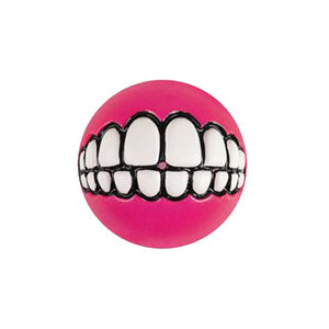 Rogz Grinz Ball - Medium - Roze