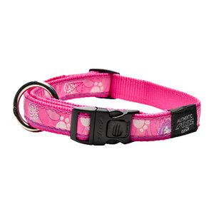 Rogz Halsband - Beach Bum - Pink Paw