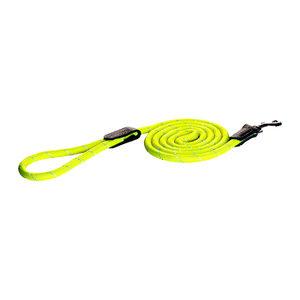 Rogz Rope Line Fixed Lead - Geel - 180 cm / 9 mm