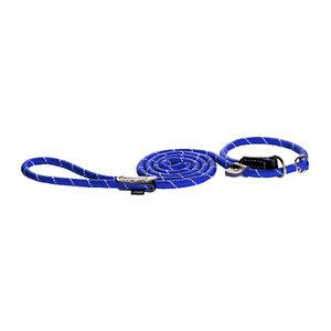 Rogz Rope Line Moxon Lead - Blauw - Small - 180 cm / 9 mm