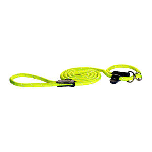 Rogz Rope Line Moxon Lead - Geel - Large - 180cm / 12mm