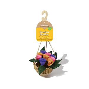 Rosewood Floral Hanging Basket