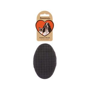 Borstel rubber 12,5x8x4 cm