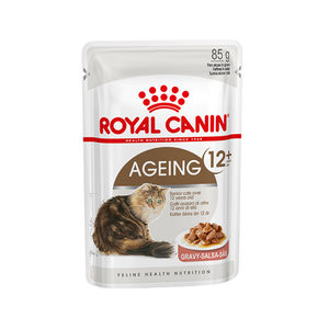Royal Canin Ageing 12+ in Gravy – 12 x 85 g