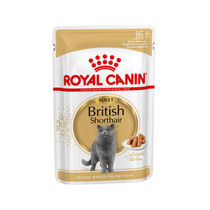 Royal Canin Fbn British Shorthair Adult Pouch 12x85 g Kattenvoer