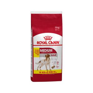 Royal Canin Medium Adult - 15+3 kg