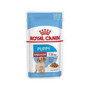 Royal Canin Medium Puppy Wet – 10 x 140 g