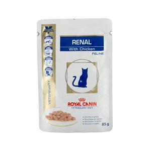 Royal Canin Renal kat zakjes 12x85 gr. kip