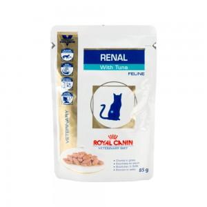 Royal Canin Renal kat zakjes 48x85 gr. tonijn