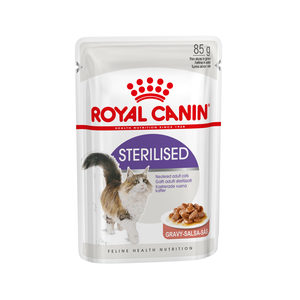 Royal Canin Sterilised in Gravy - 12 x 85 g