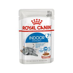 Royal Canin Sterilised Indoor 7+ in Gravy - 12 x 85 gram