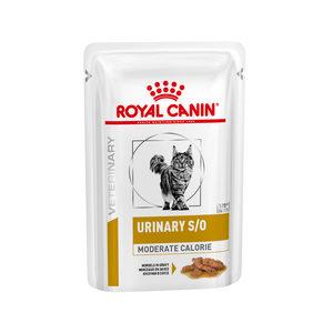 Royal Canin Urinary S/O Moderate Cal. kat (Vleesstukjes) – 12 x 85g