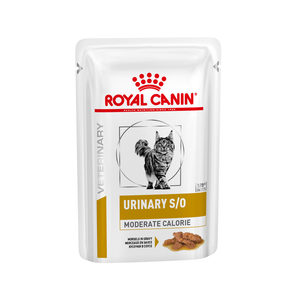 Royal Canin Urinary S/O Moderate Cal. kat (Vleesstukjes) - 48 x 85 g