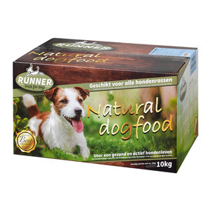 Runner Fresh For Dogs Deelblokjes – Puppy – 2 x 10 kg