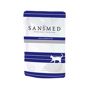 Sanimed Skin Sensitive Cat - 12x 100 g Frischeb...