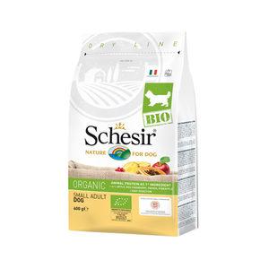 Schesir Hond Biologisch Small Adult - 600 g