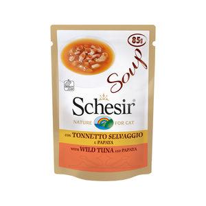 Schesir Kat Soep - Tonijn & Papaja - 85 g