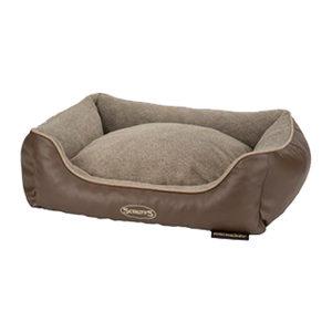 Scruffs Chateau Memory Foam Box Bed Latte M