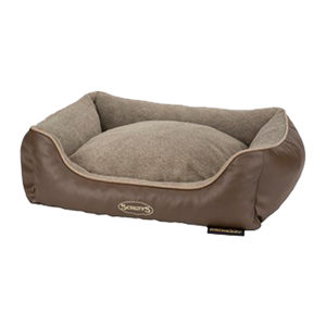 Scruffs Chateau Memory Foam Box Bed Latte L