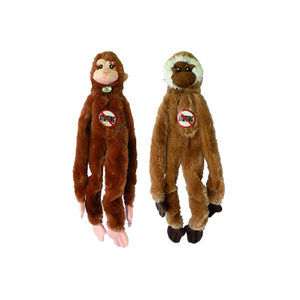 Skinneeez Monkey Hondenspeelgoed Per stuk
