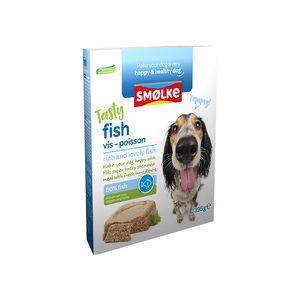 Smolke Vers Gestoomde Maaltijd 395 g - Hondenvoer - Vis&Bruine Rijst&Groente