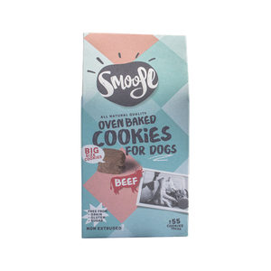 Smoofl Oven Baked Cookies For Dogs - 105 gram - Rund (Big Bites)