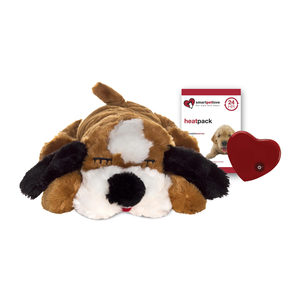 Snuggle Puppy – Bruin & Wit