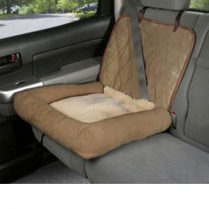 Solvit Car Cuddler - Bruin