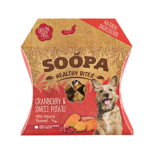 Soopa Bites Cranberry & Zoete Aardappel